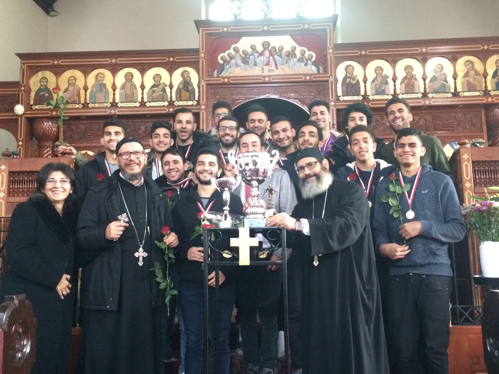 Image result for st mary and st mina youth manchester