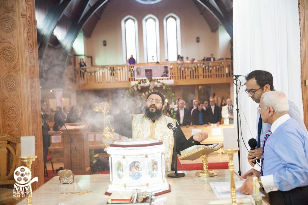 Raising of Incense Service