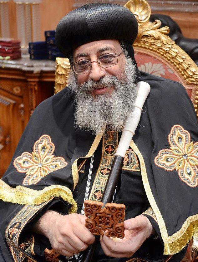 Seine Heiligkeit Papst Tawadros II. (Wagih Sobhi Baki Solayman) Papst von Alexandrien und Patriarch des Stuhles des hl. Markus in ganz Afrika und dem Orient