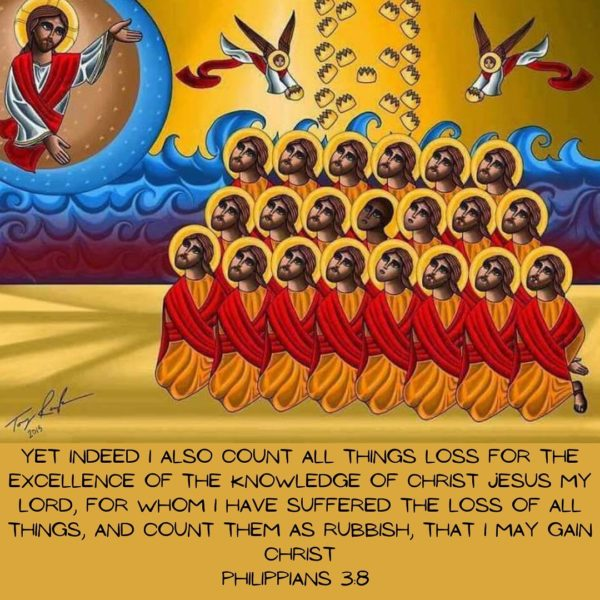 """""""Believe me when I say, I have never been so sure of my heart in peace as in the times of persecution. For I have confidence that if I should die while suffering for Christ and being strengthened by His mercy, I will find still greater mercy with Him."""" – St. Athanasius the Apostolic  """"Noble is the man who, in the midst of his joy, weeps for those who are suffering. Noble too is the man who, in the midst of his sorrows, sings a song with the joyful hearts. The more a man shares in the feelings of others, the more noble he is."""" – H.H. Pope Shenouda III  #coptic #orthodox #suffering #martyrs #believe #mercy #21martyrs #faith #hope #joy #peace #orthodoxy #heart #persecution #copticchurch #blessing #noble #saints"""