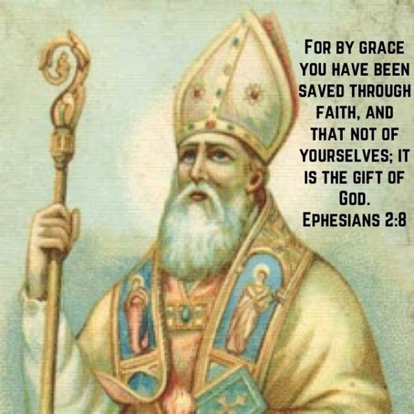"""For grace is given not because we have done good works, but in order that we may be able to do them."" – St. Augustine #coptic #orthodox #grace #faith #gift"