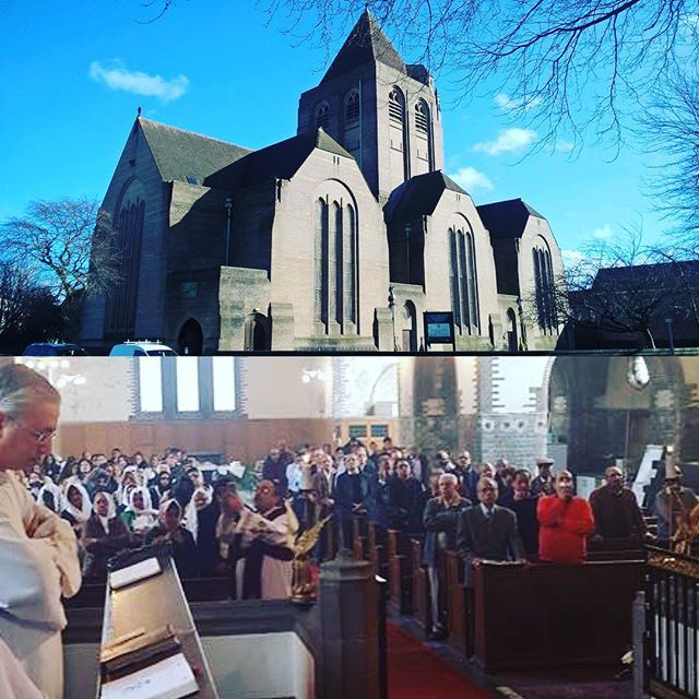 Inauguration of St. Mary & St. Cyril's Church in Liverpool